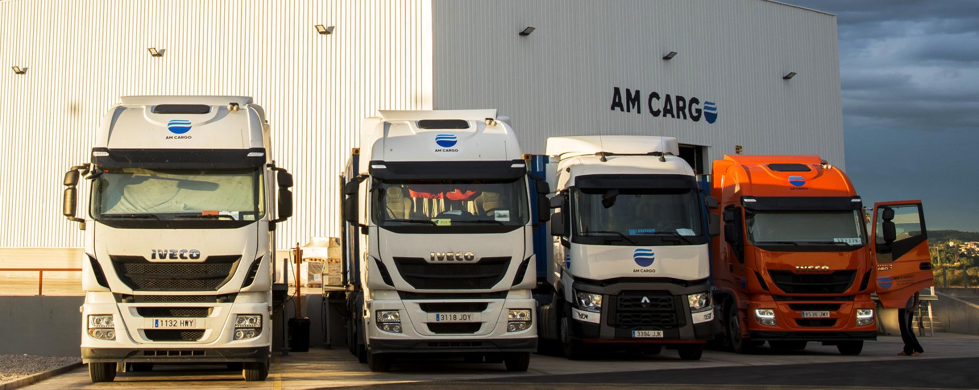 Flota de camiones AM Cargo