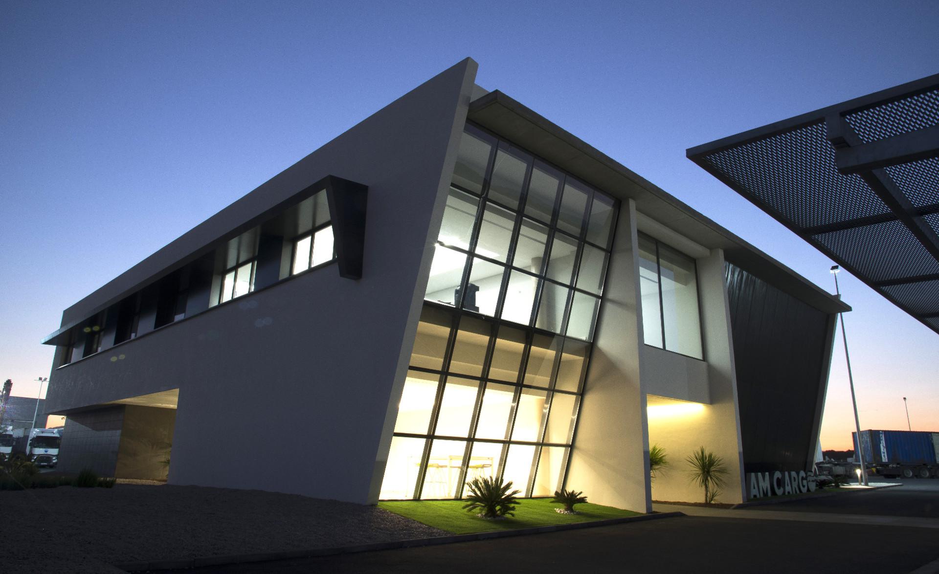 Oficinas del centro logístico de Onda de AM Cargo
