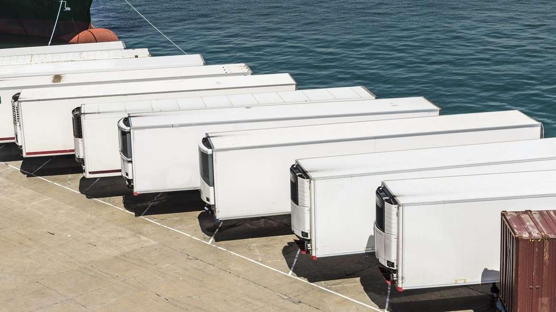 Transporte marítimo: Contenedor refrigerado Reefer