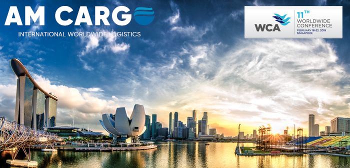 AMCARGO presence at the 11th WCA's world annual conference 2019 in Singapore