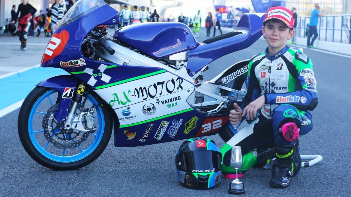 David Real – IgaX Team PreMoto3
