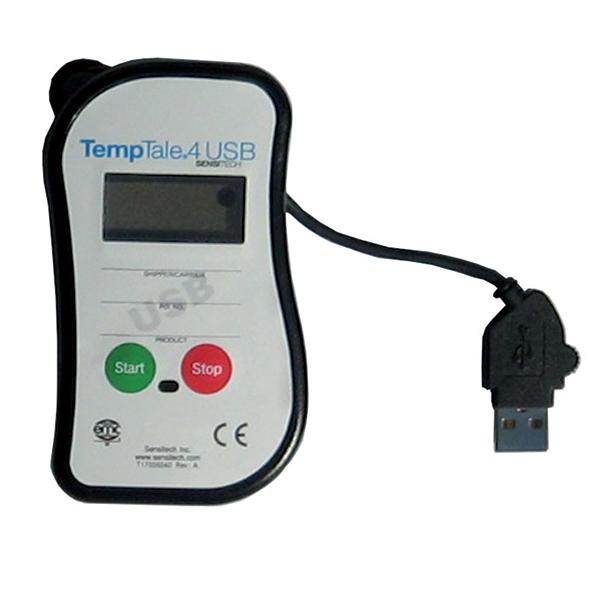 Termógrafo desechable digital Sensitech USB