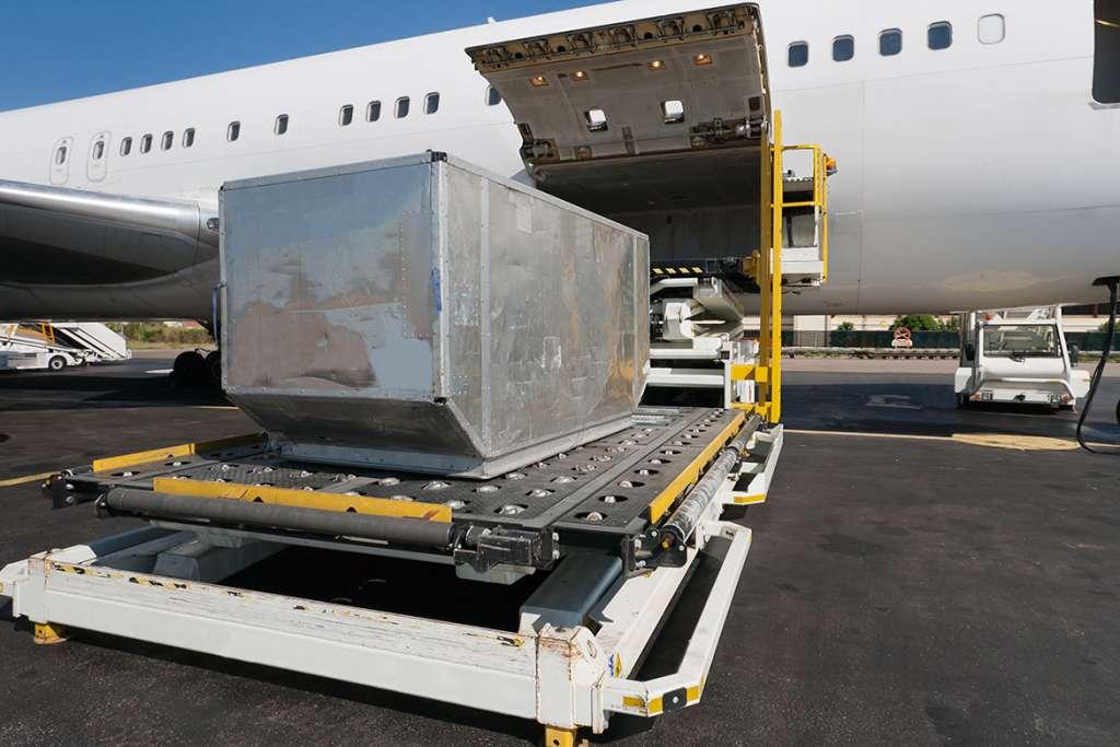 ¿Para qué mercancías es idóneo el transporte aéreo?