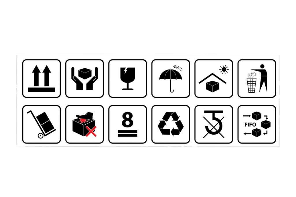 ¿Cuál es el significado de los principales símbolos de embalaje?